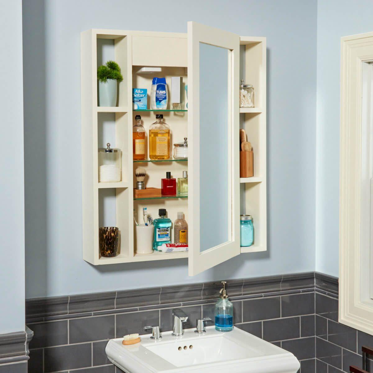FH17ONO_582_00_011 medicine cabinet hidden compartment