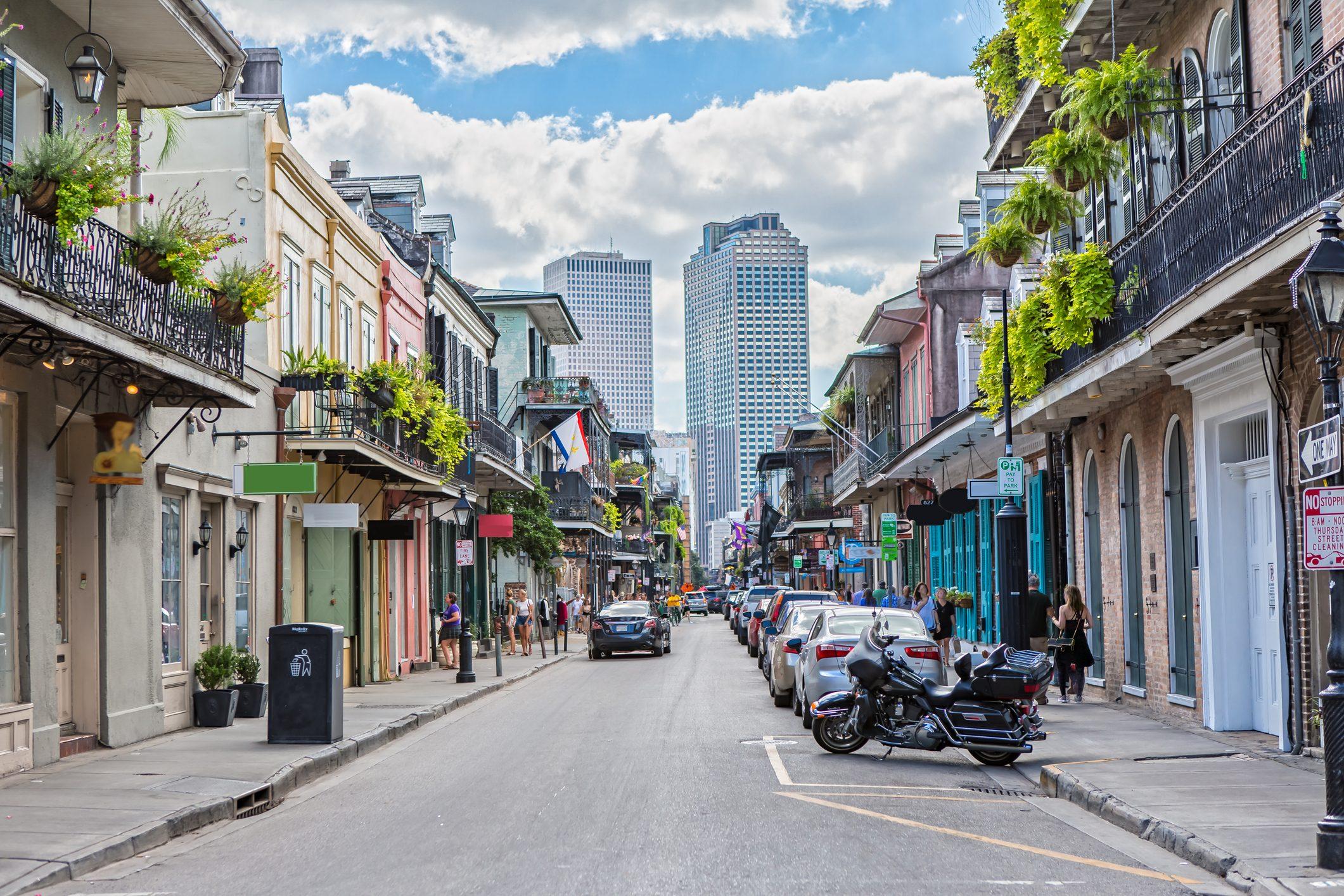 Royal Street in New Orleans, LA