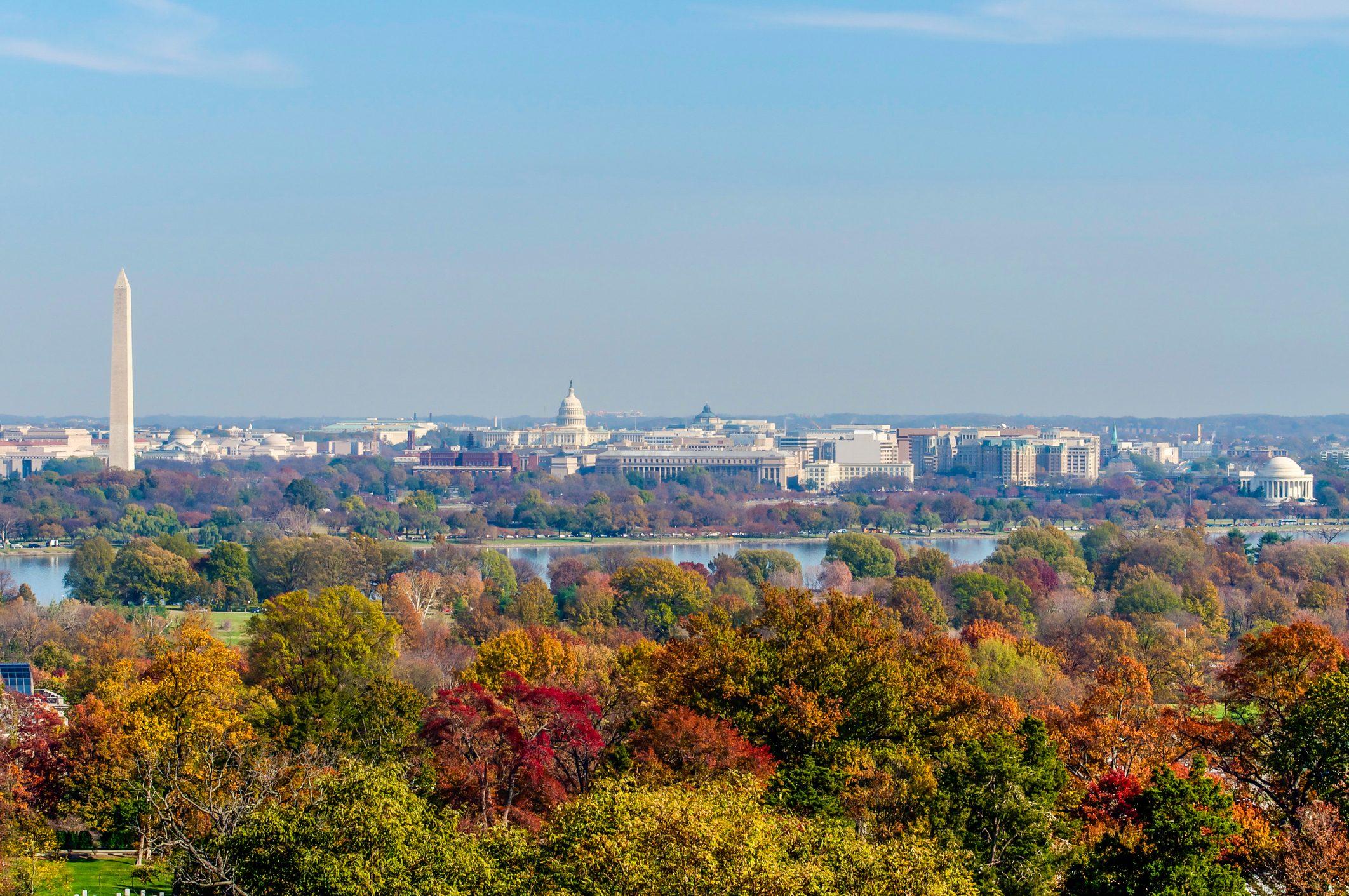 Fall in Washington D.C.