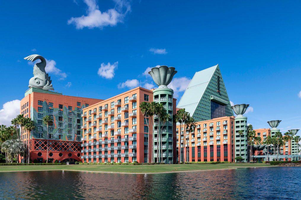 The Walt Disney World Dolphin is a resort hotel designed by...