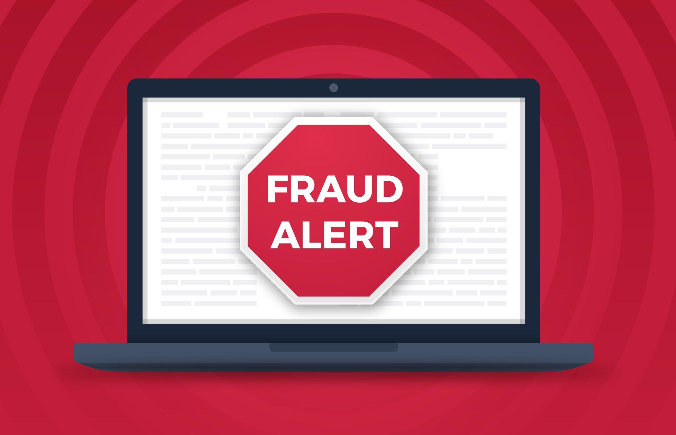 Fraud Alert Computer Crime