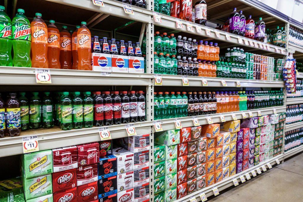 Miami, Winn-Dixie, Stocked soda aisle