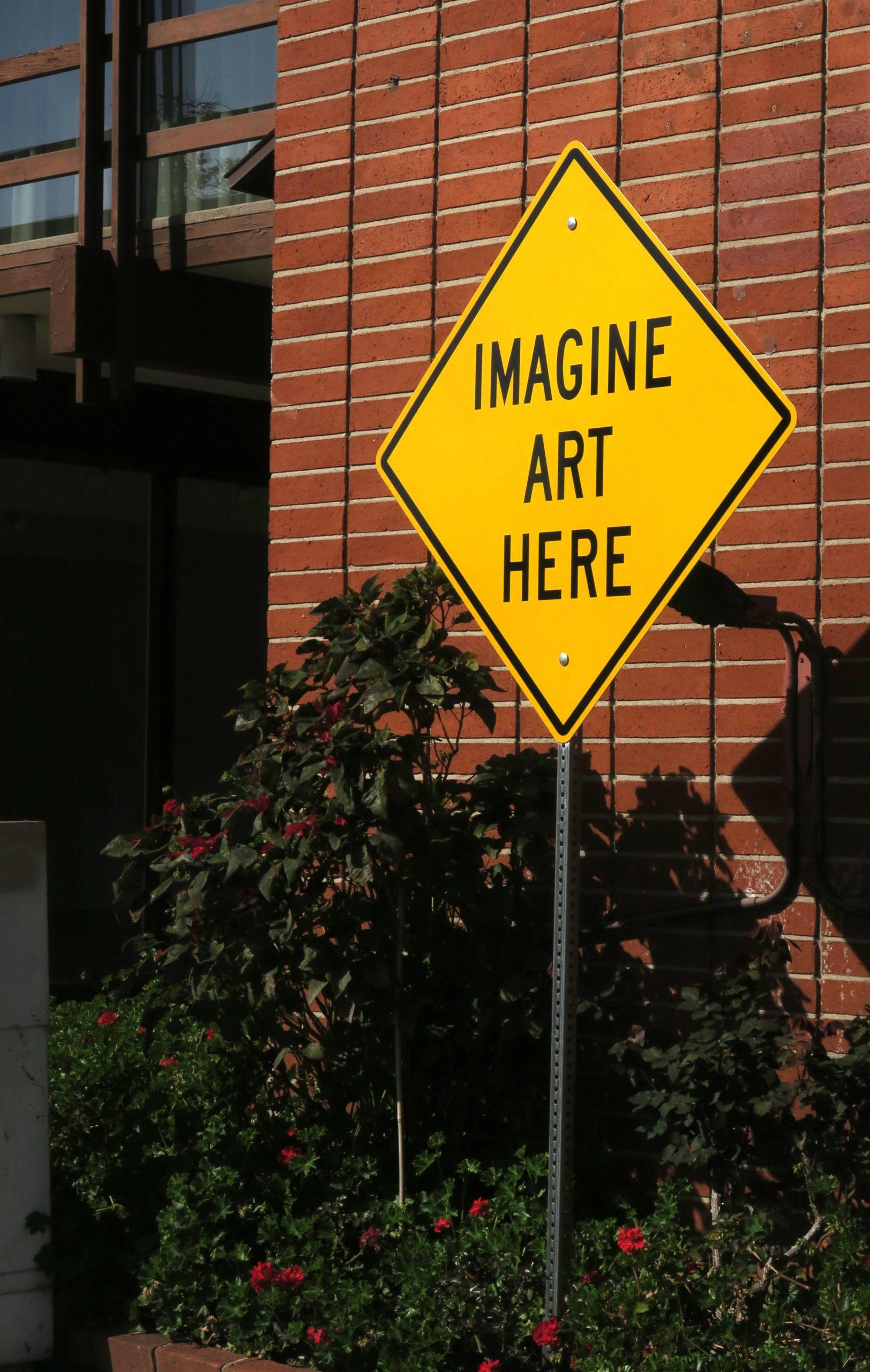 humorous ironic fake street sign
