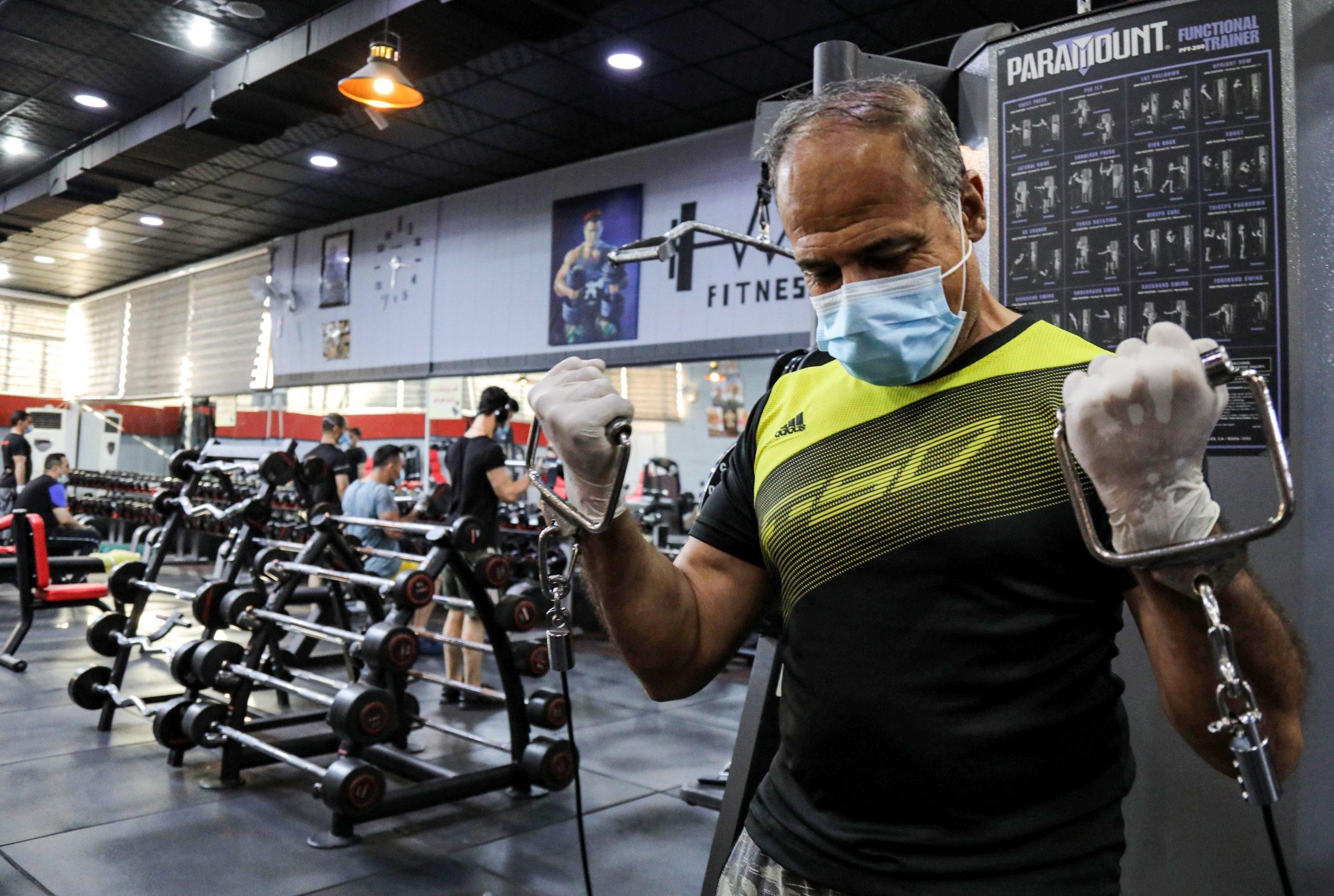 IRAQ-KURDS-HEALTH-VIRUS-SPORT-FITNESS