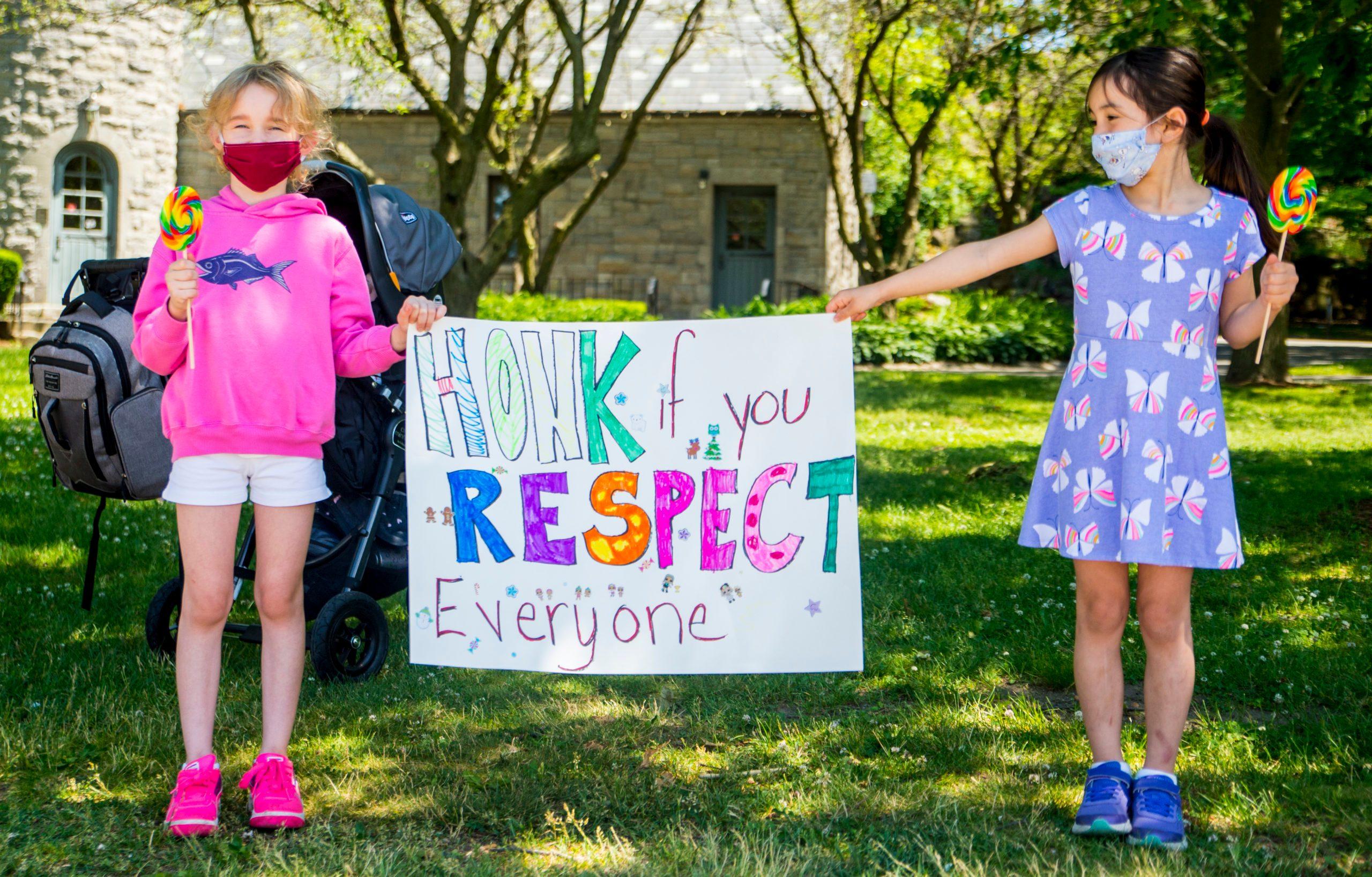 Third Grader Organizes BLM Protest