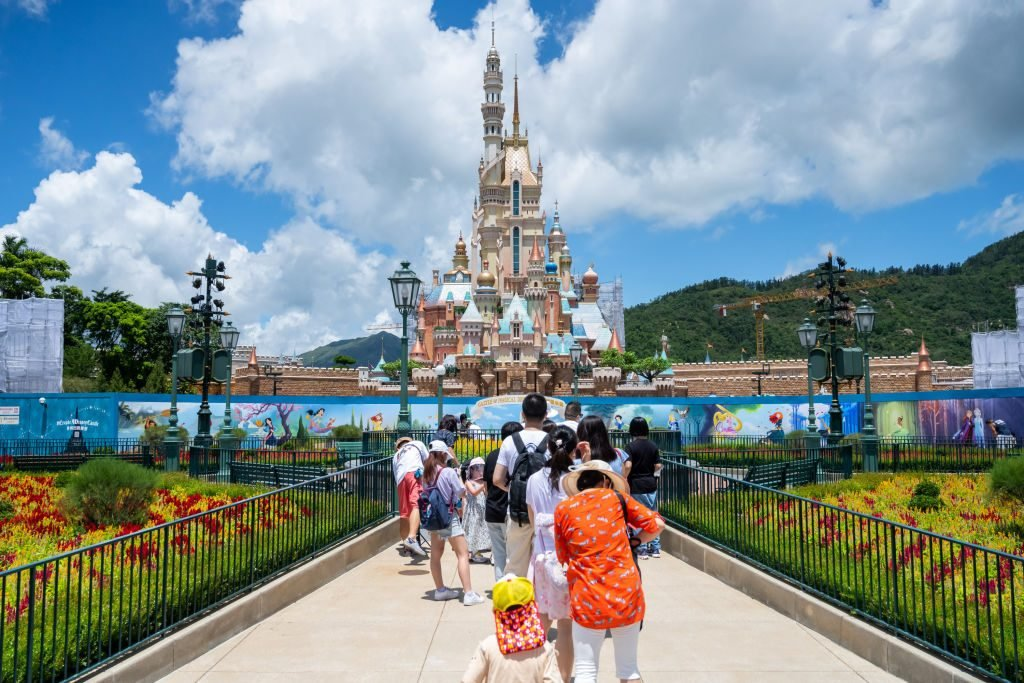 Hong Kong Disneyland Reopens Amid The Coronavirus Pandemic