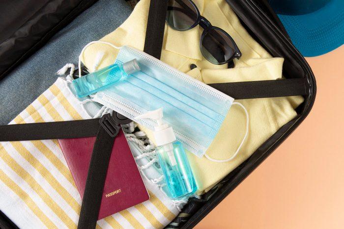 Summer Travel Preparation Concept