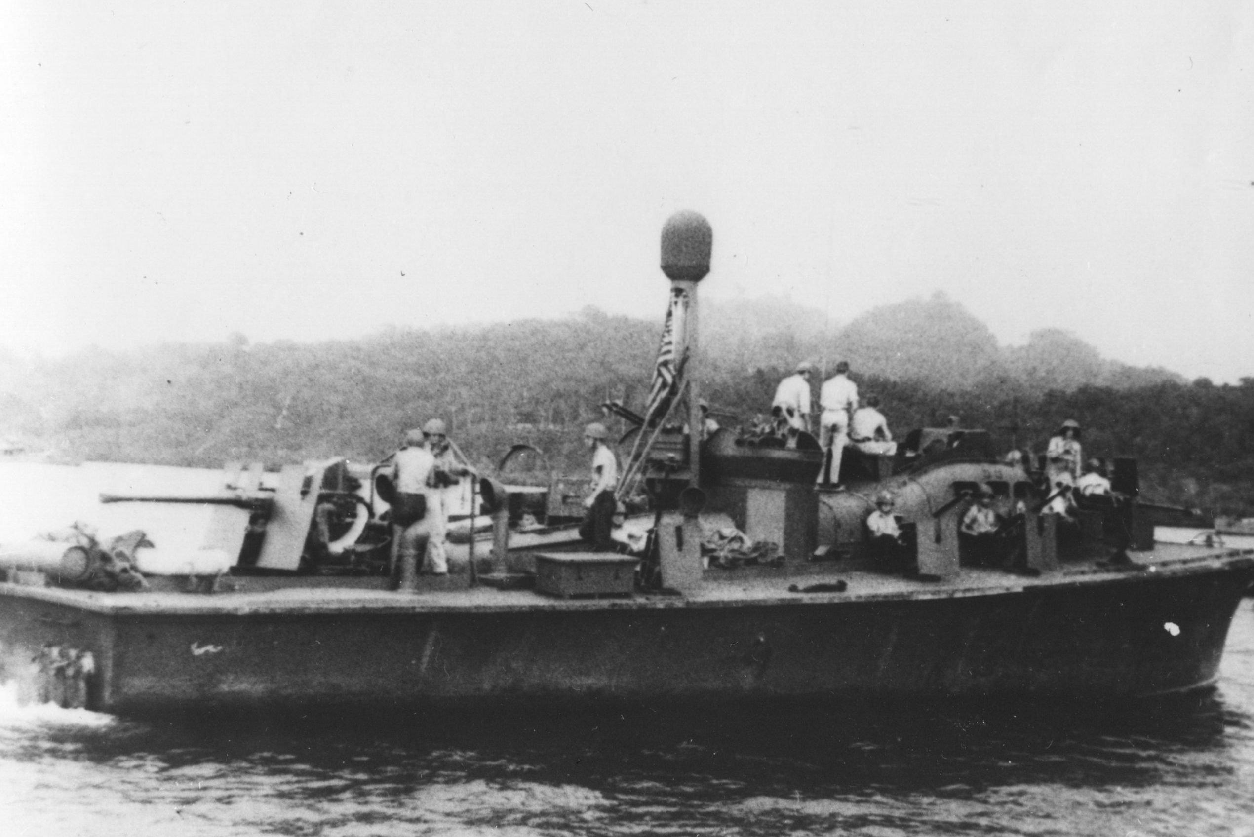 PT-59 In The Solomon Islands