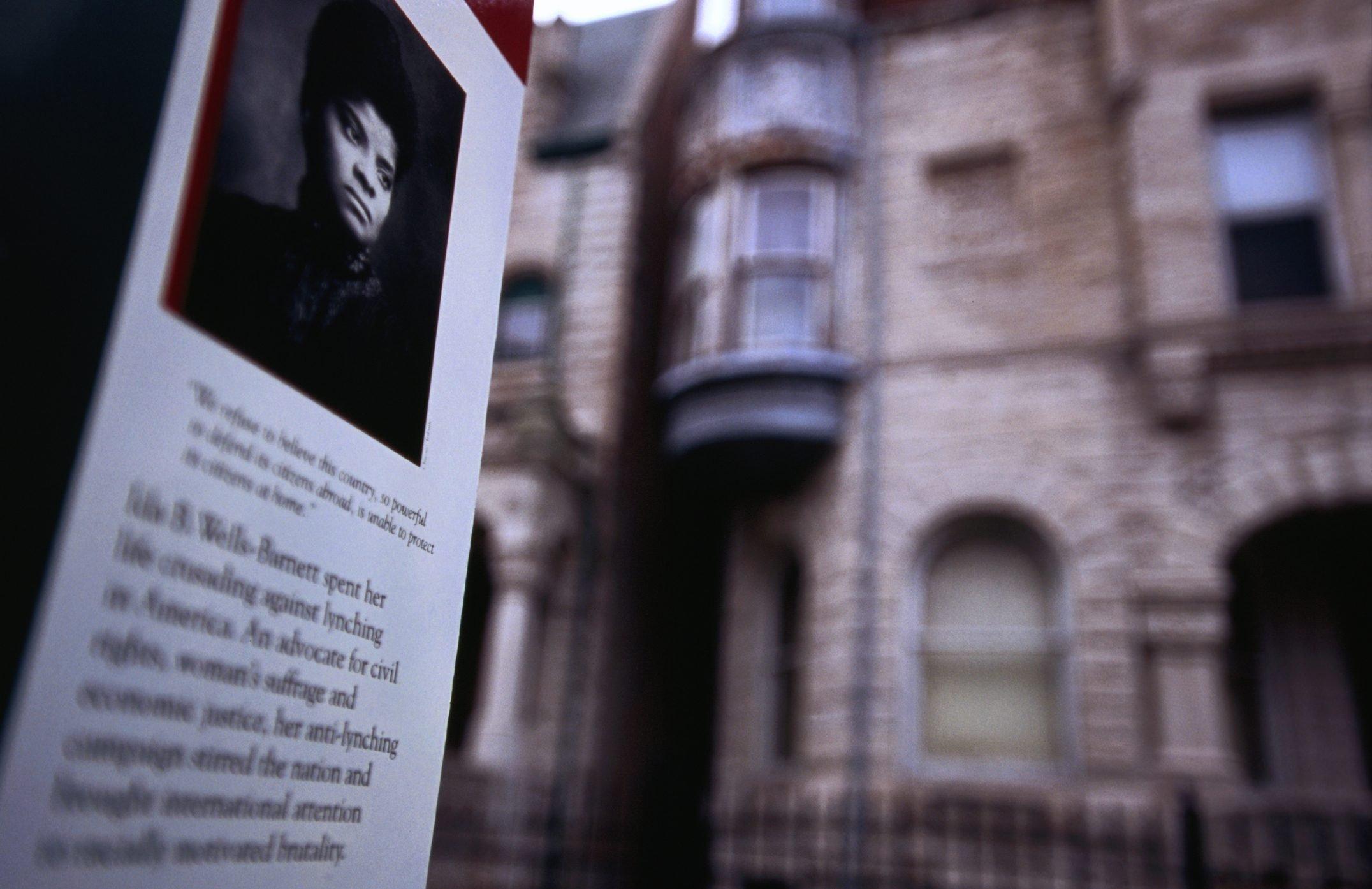 Ida B. Wells home.