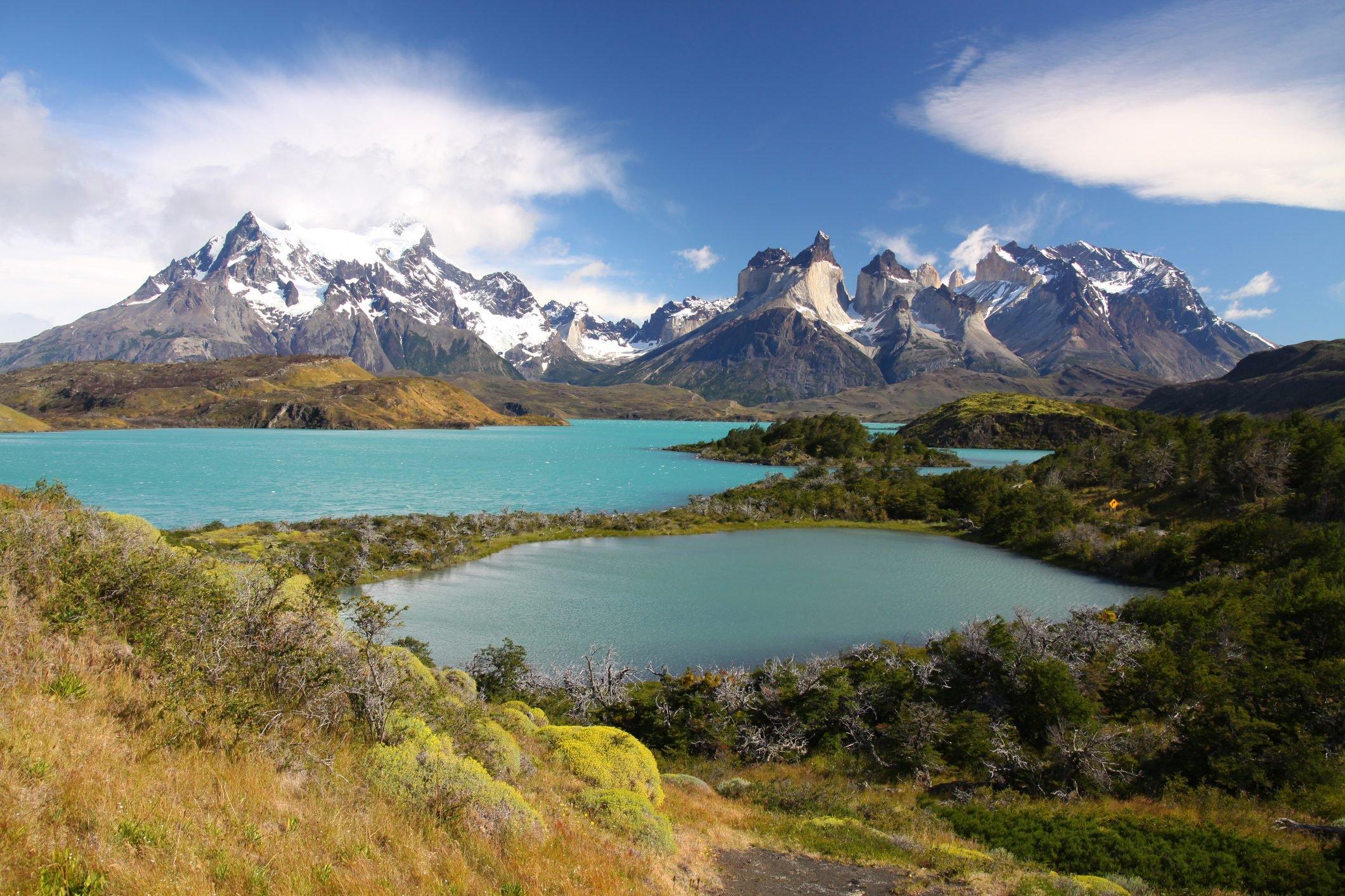 Torres del Paine, Lago Pehoé