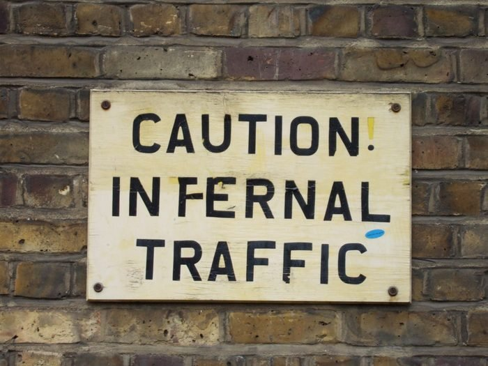 Caution Infernal Traffic