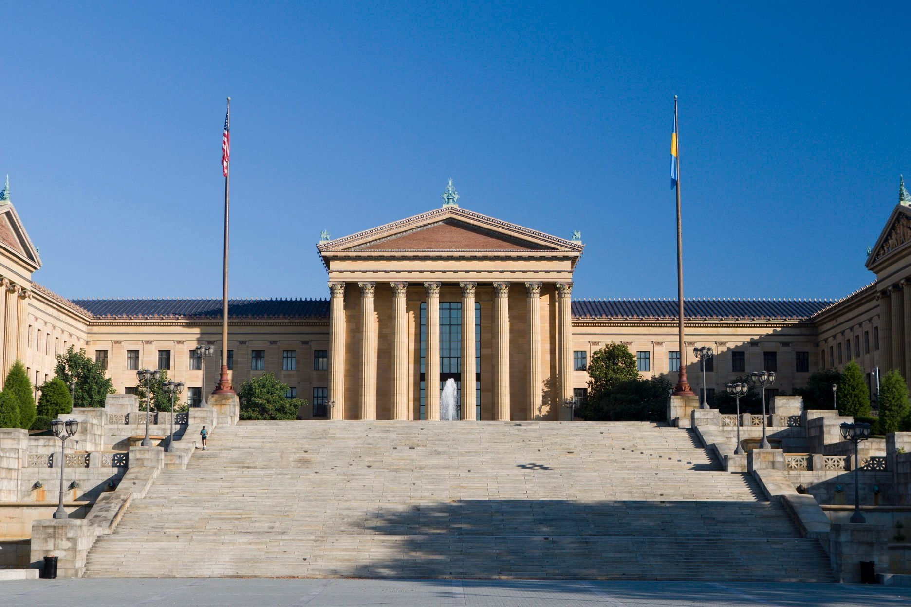 Exterior of the Philadelphia Museum of Art