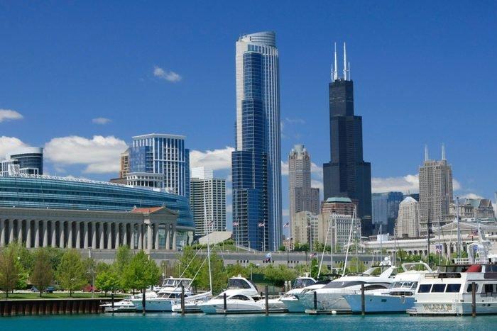 Chicago's Burnham Park Harbor