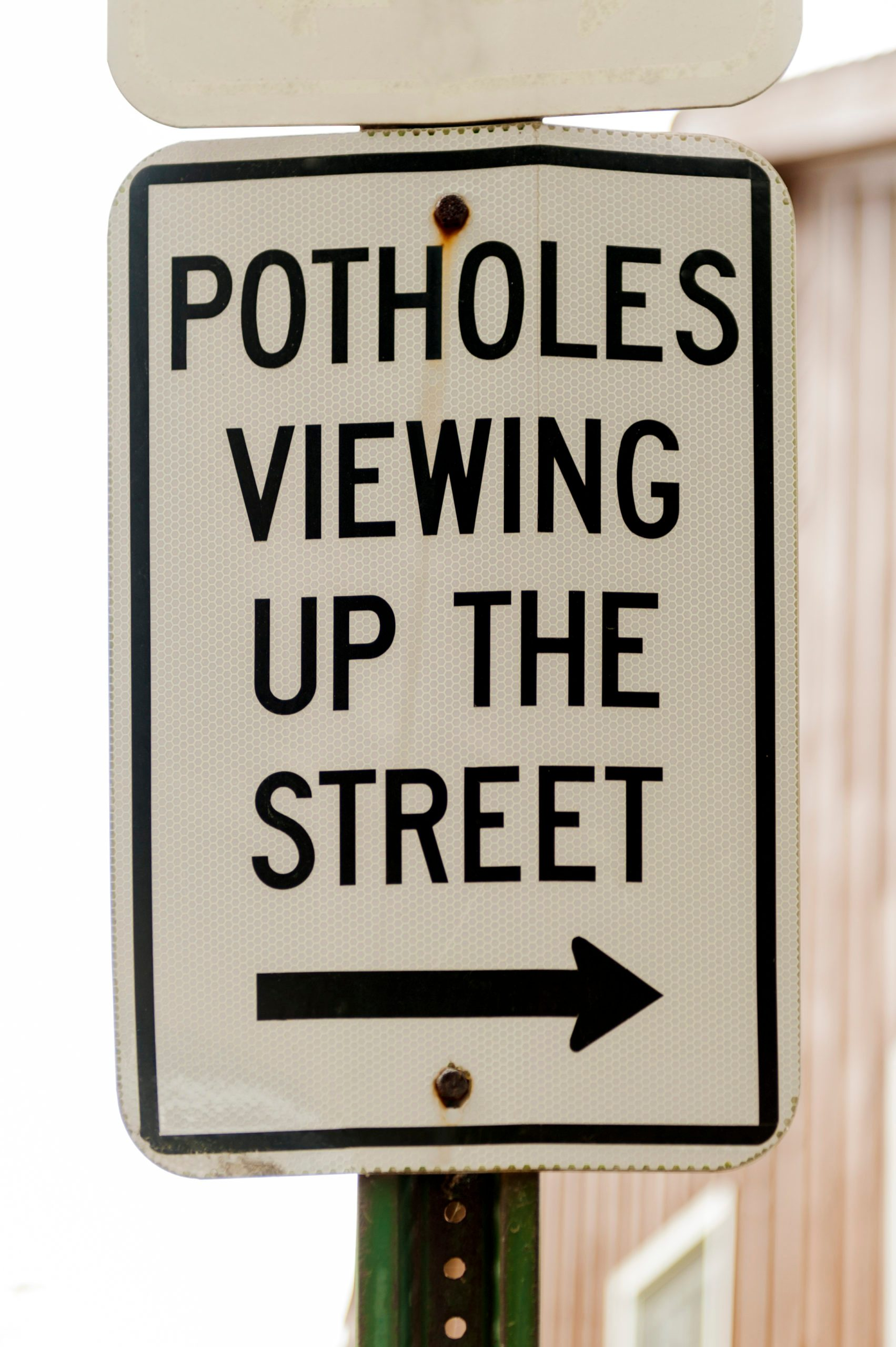 Viewing Potholes