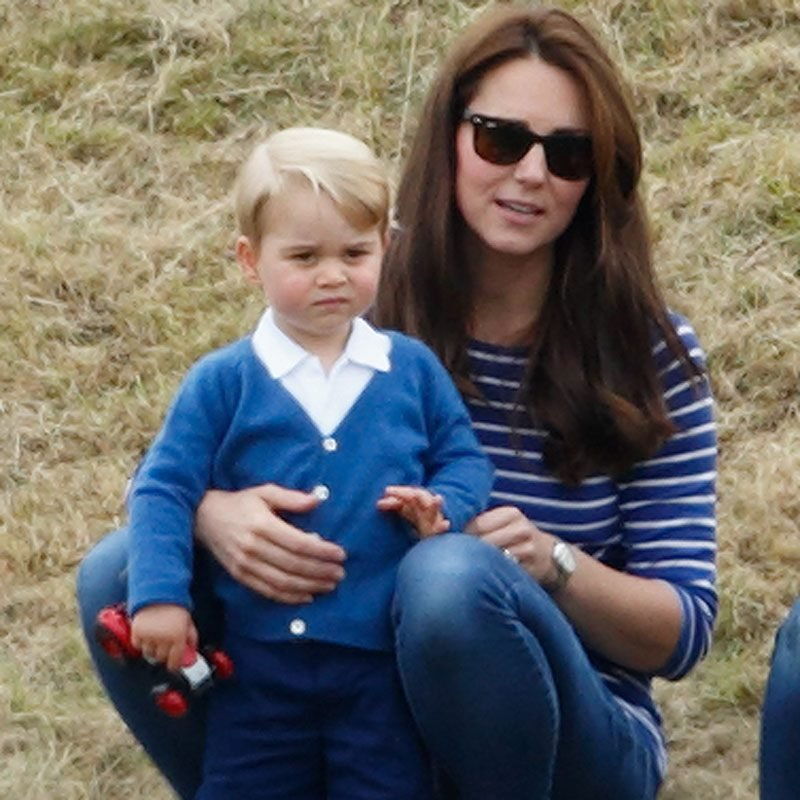 Catherine, Duchess of Cambridge and Prince George of Cambridge