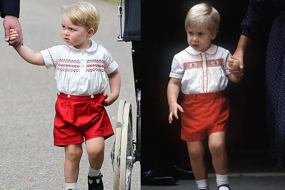 George and William the royal family