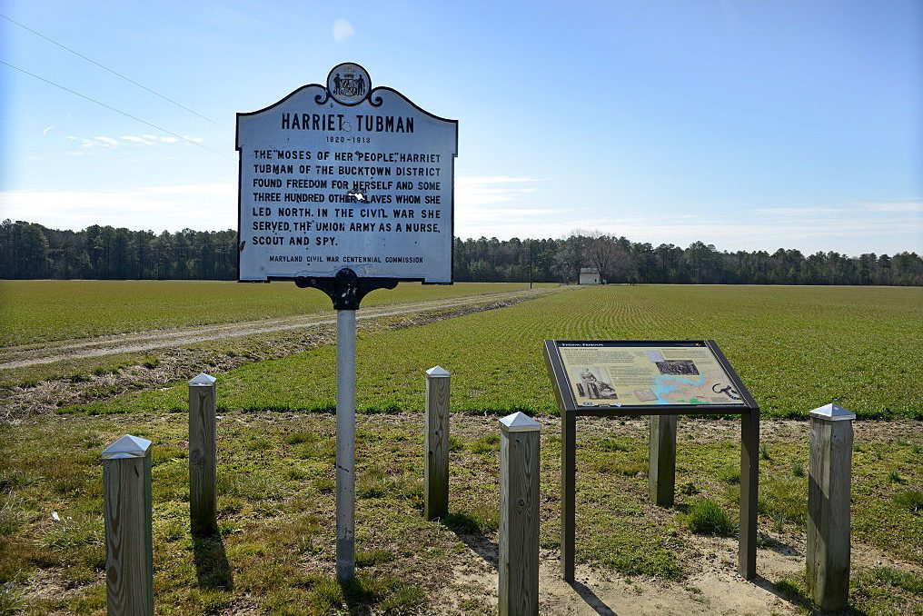 Harriet Tubman Historical Marker