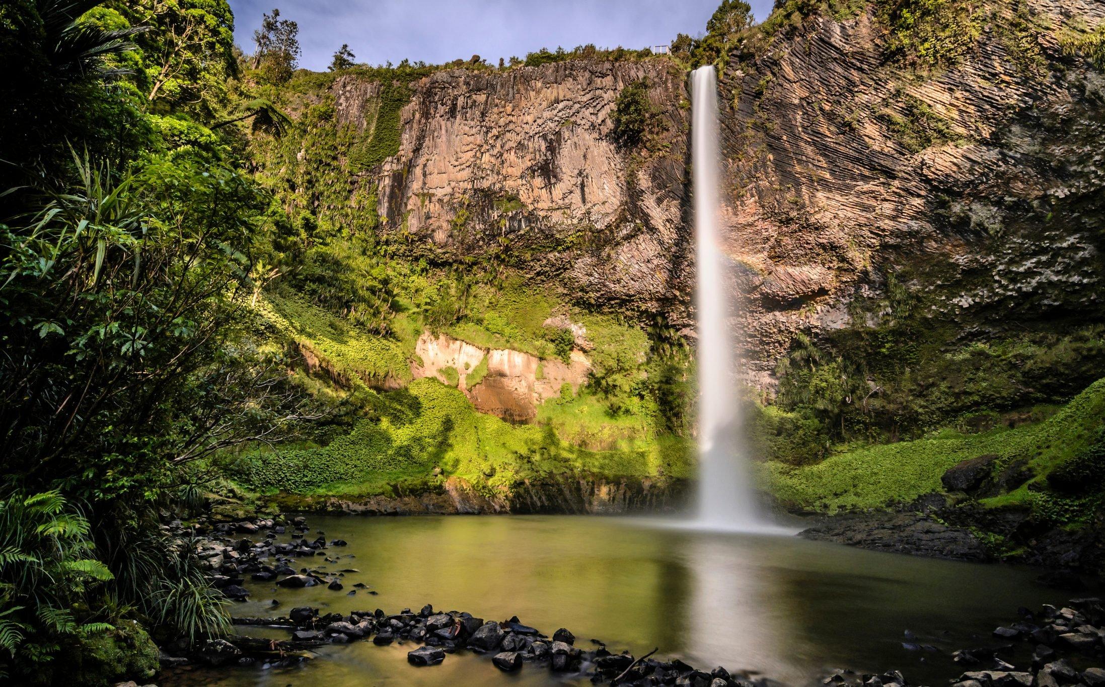 Bridal Veil Falls, Raglan, Waikato, North Island, New Zealand