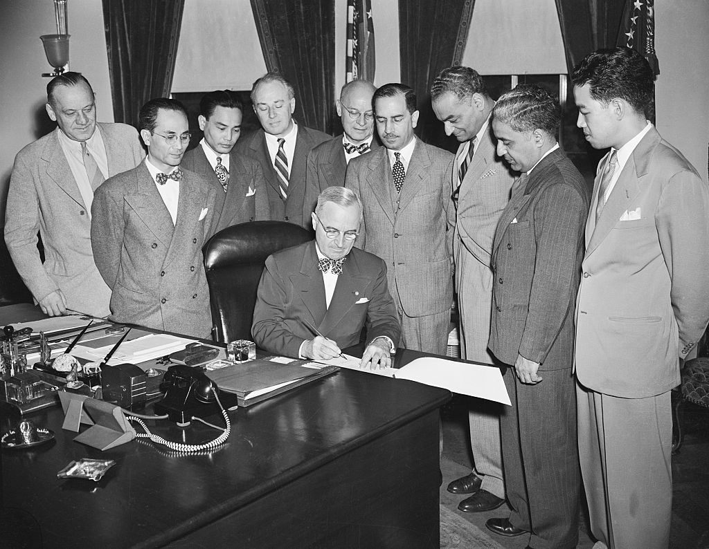 President Truman Authorizes New Immigration Quotas