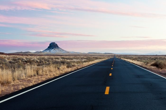 Arizona Landscape Near Winslow