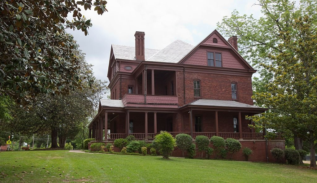 The Oaks, home built for Booker T. Washington and his family in Tuskegee, Alabama
