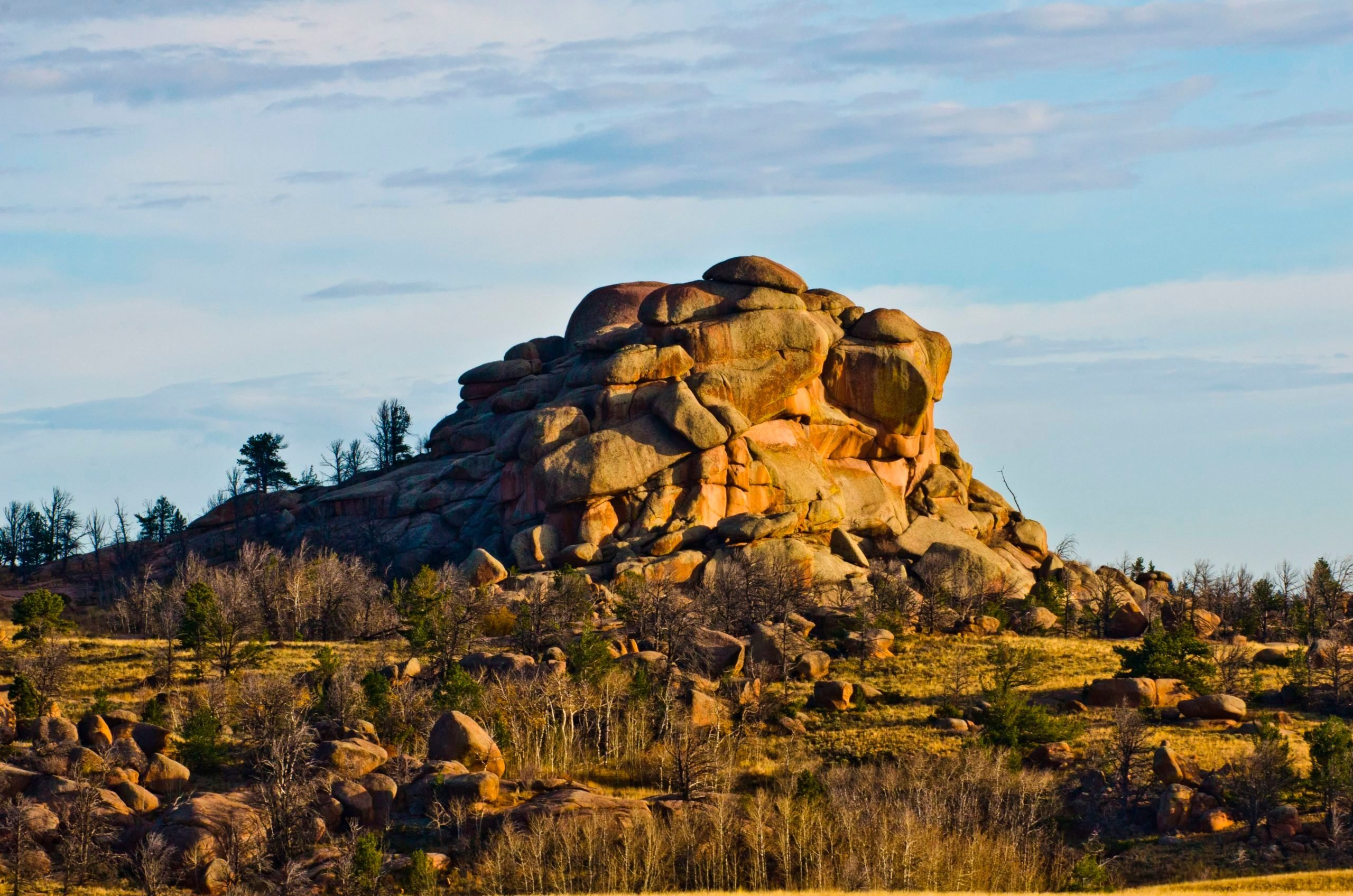 Wyoming, Buford, Vedauvoo Recreation Area, Rock formations of Sherman Granite