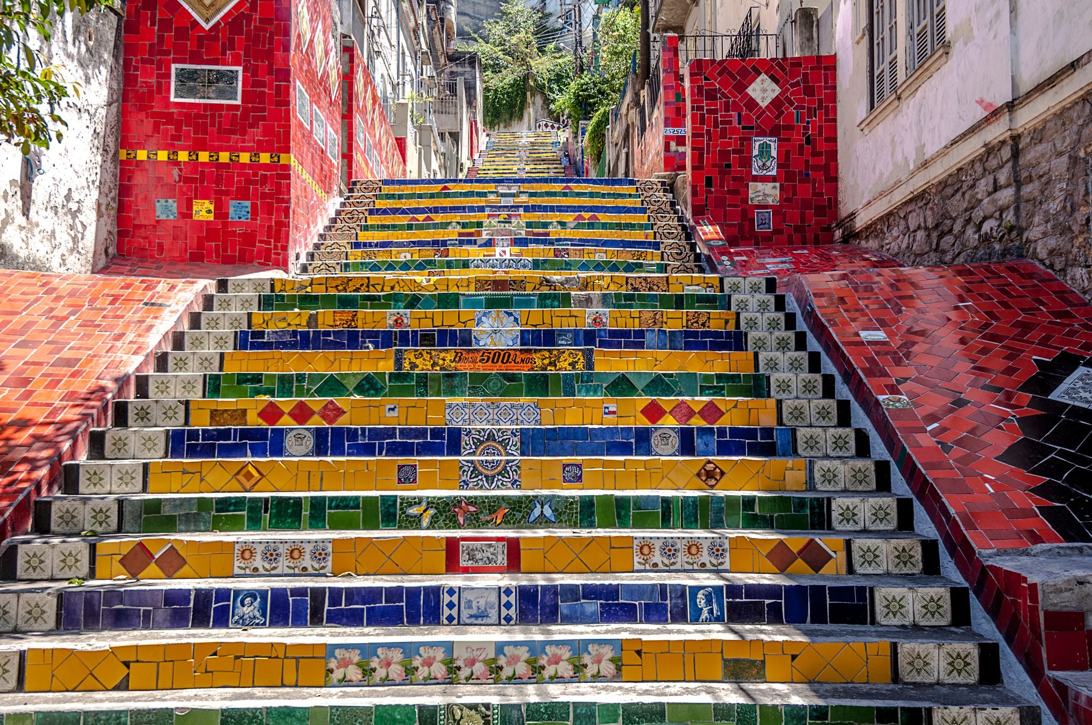 Selaron's Stairs (Escadaria Selarón).