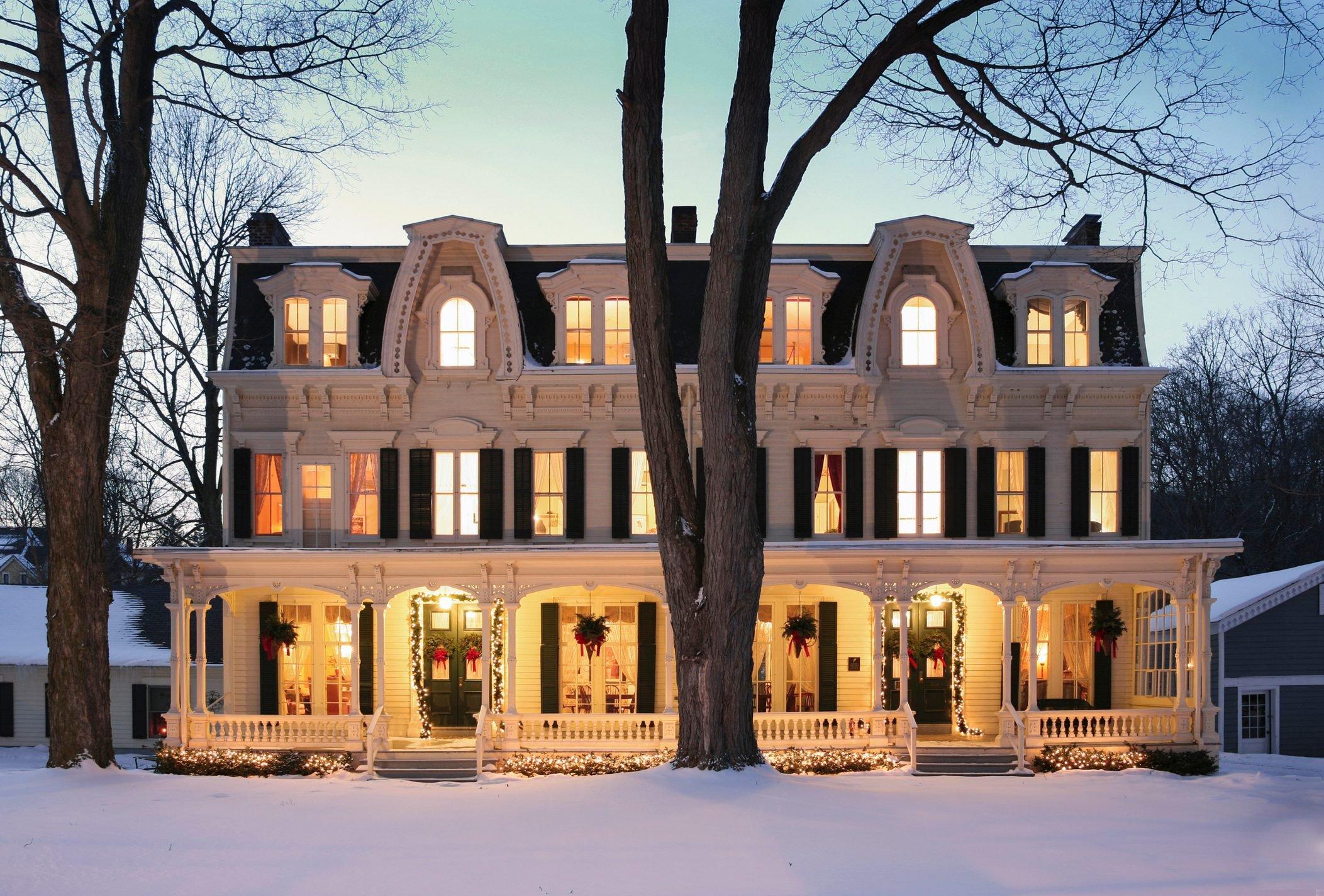 Grand Victorian In Winter