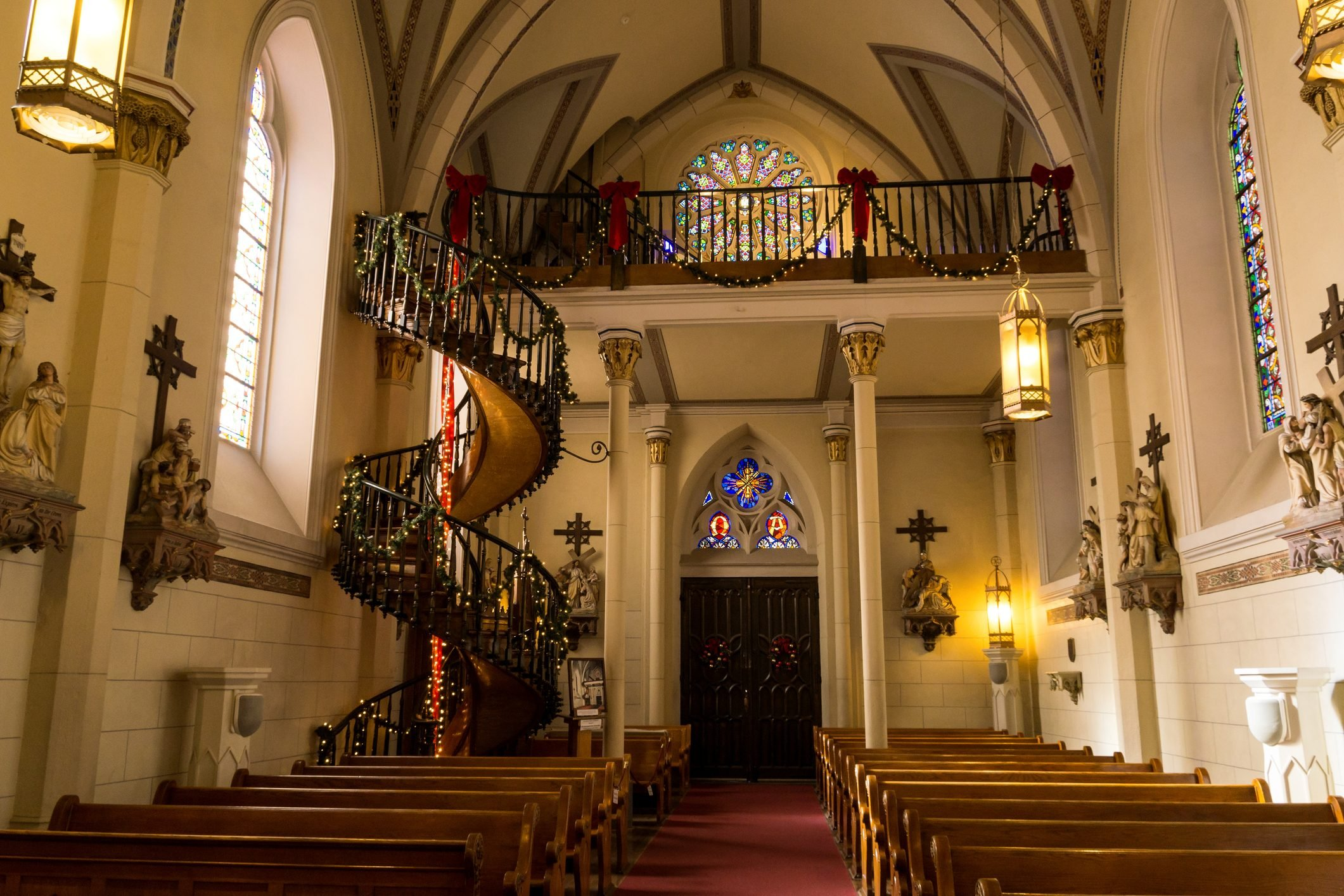 Spiral Staircase of the Loretto Chapel, Santa Fe