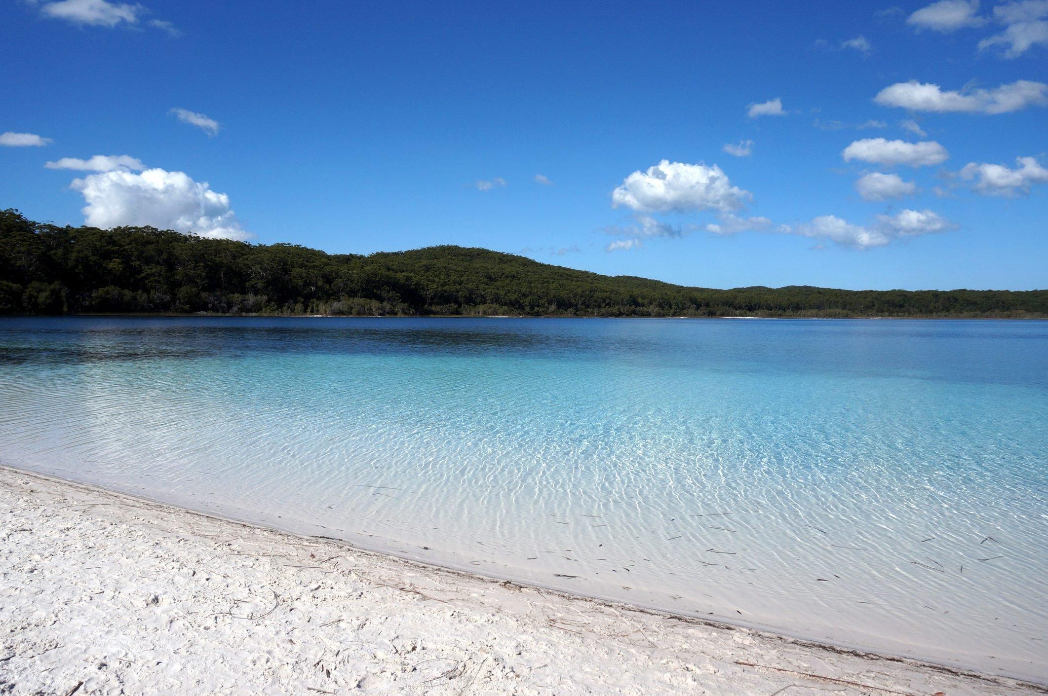 Lake McKenzie view