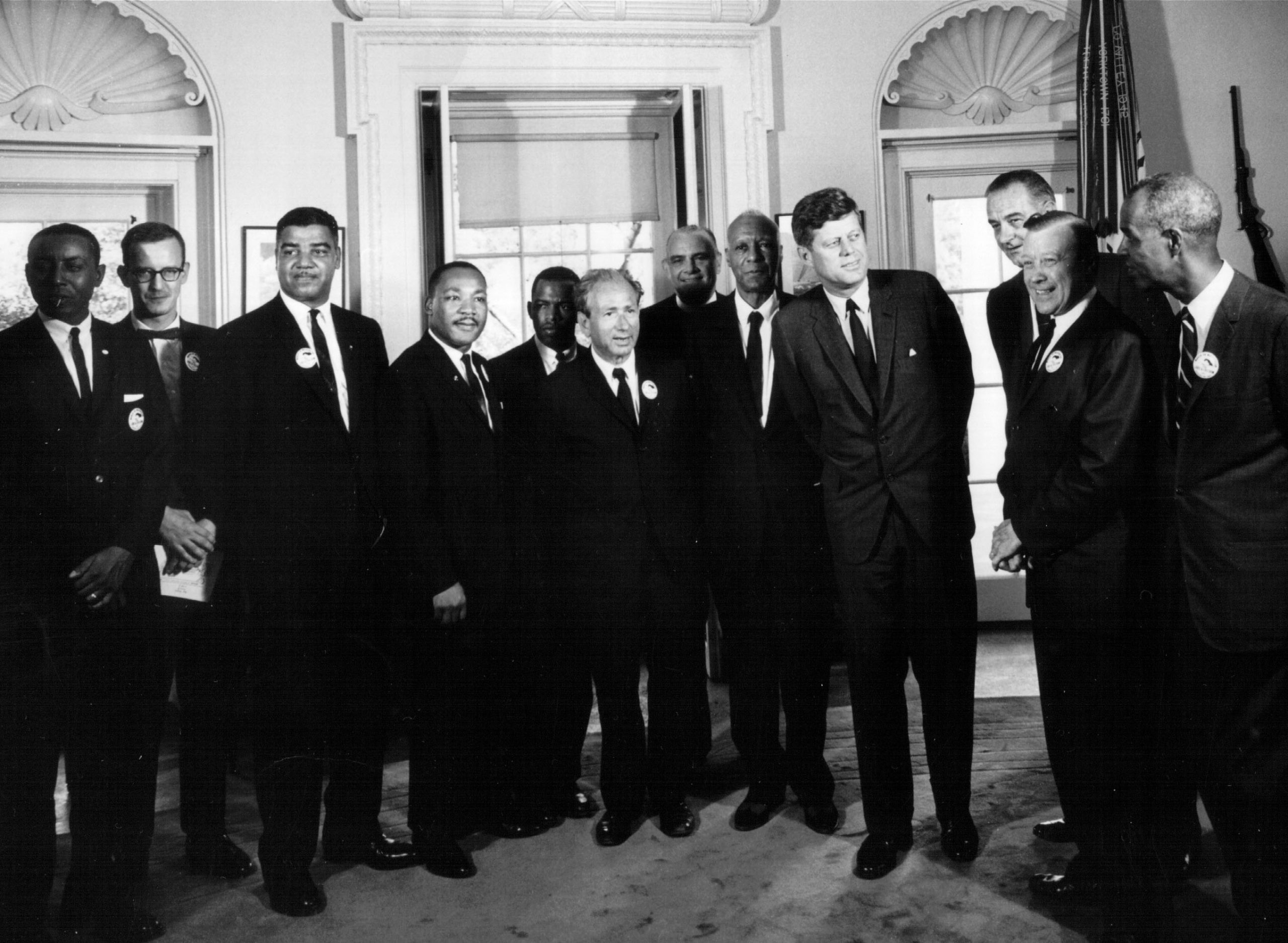 President Kennedy Meets with Civil Rights Leaders