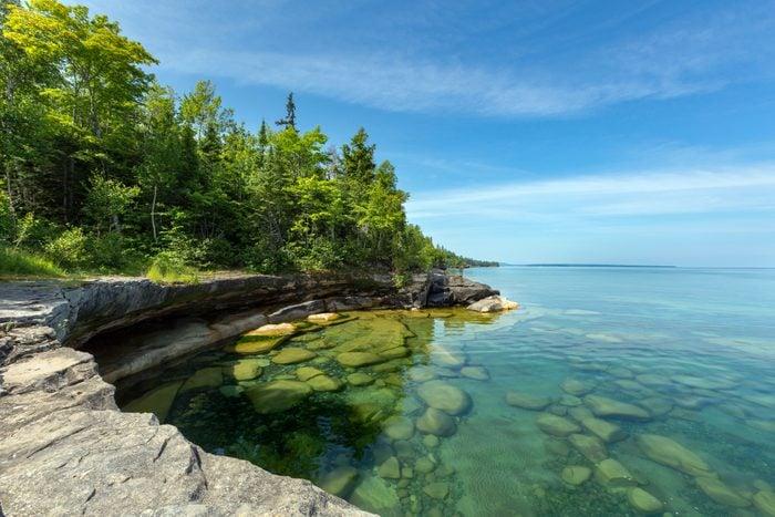 Paradise Cove on Lake Superior, Michigan