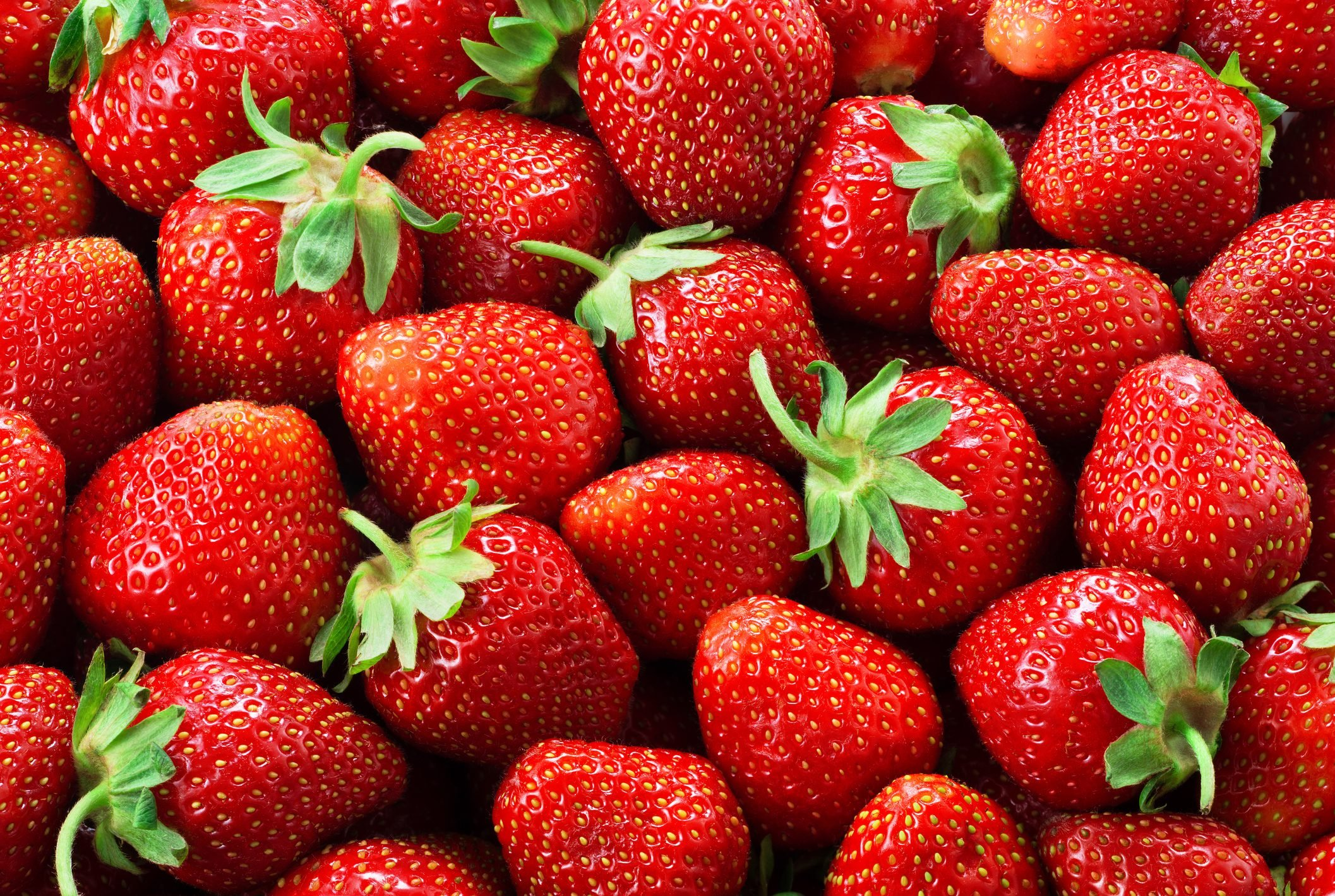 Strawberry background. Strawberries.
