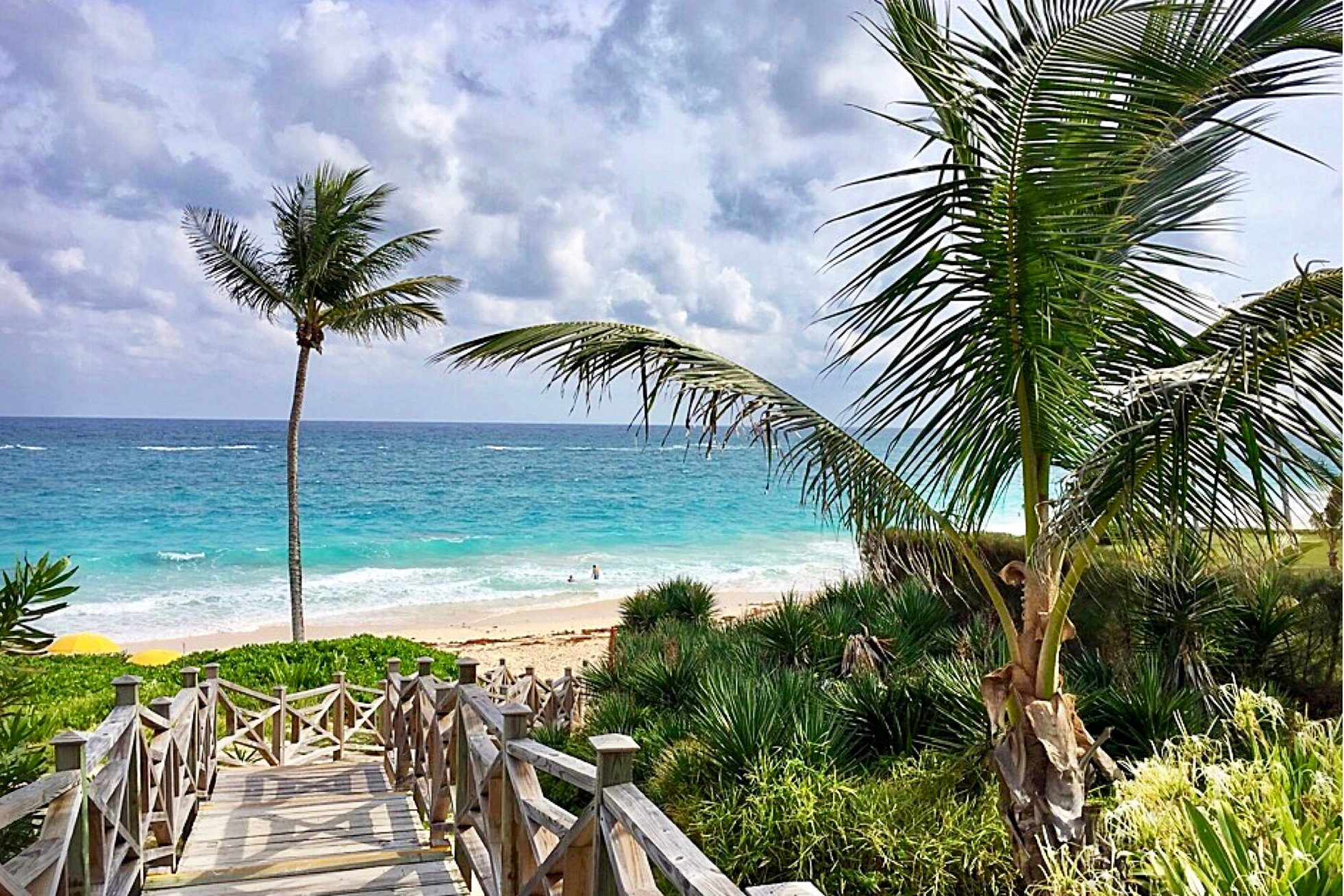 Bermuda Ocean View Path to happiness