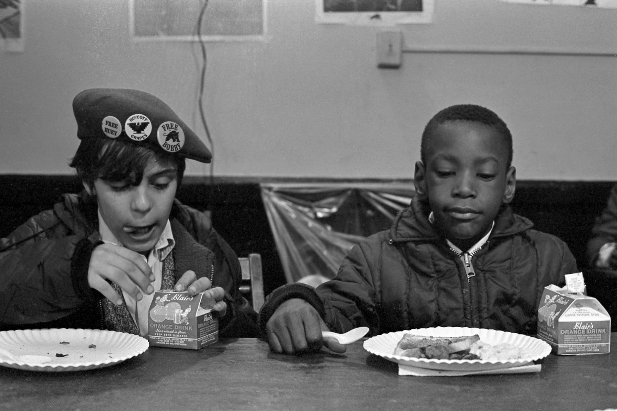 At A Black Panther Kid's Breakfast