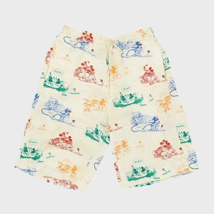 Gucci Mickey And Minnie Shorts