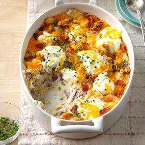 loaded red potato casserole