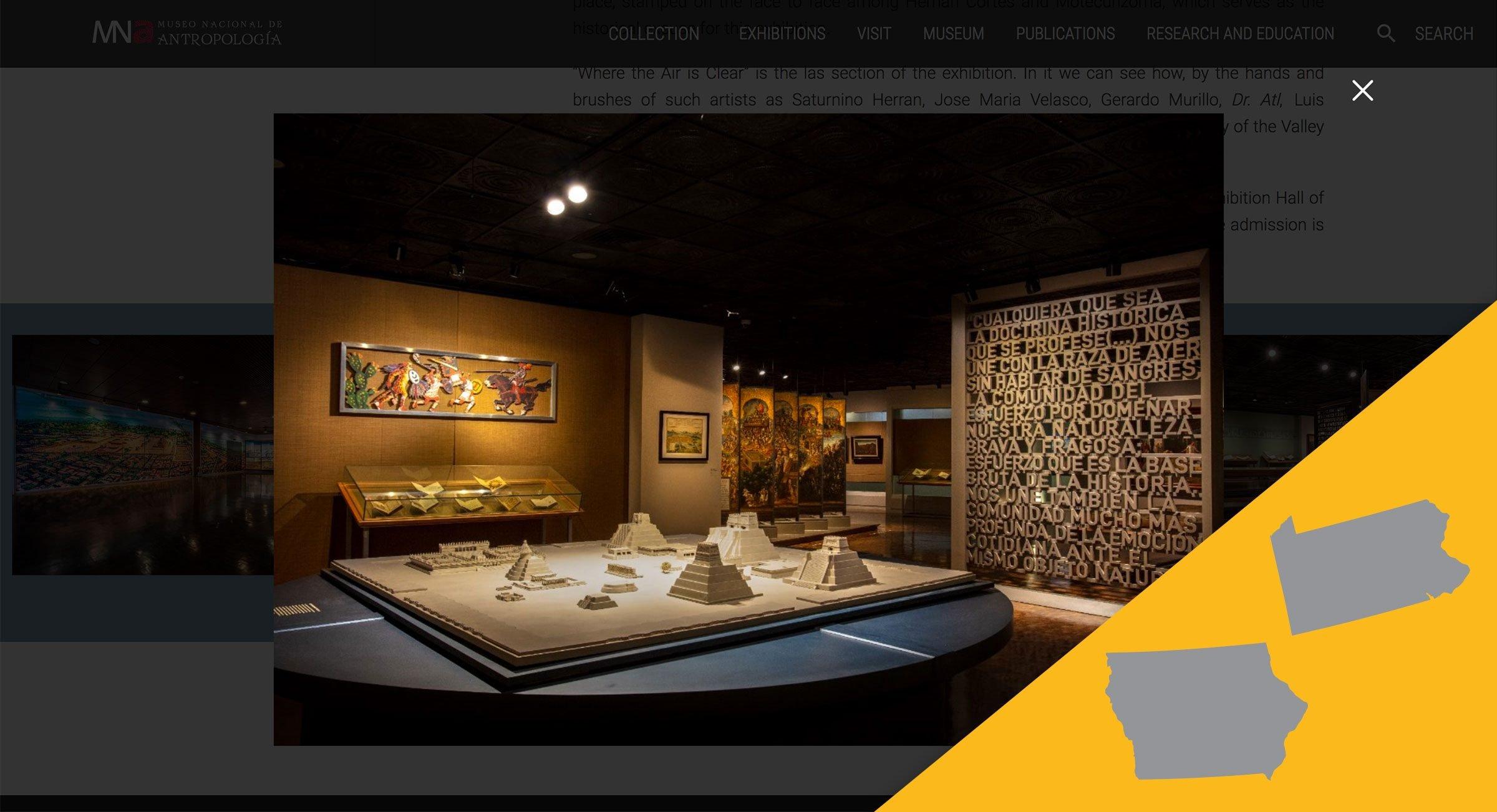 Museo Nacional de Antropología virtual tour