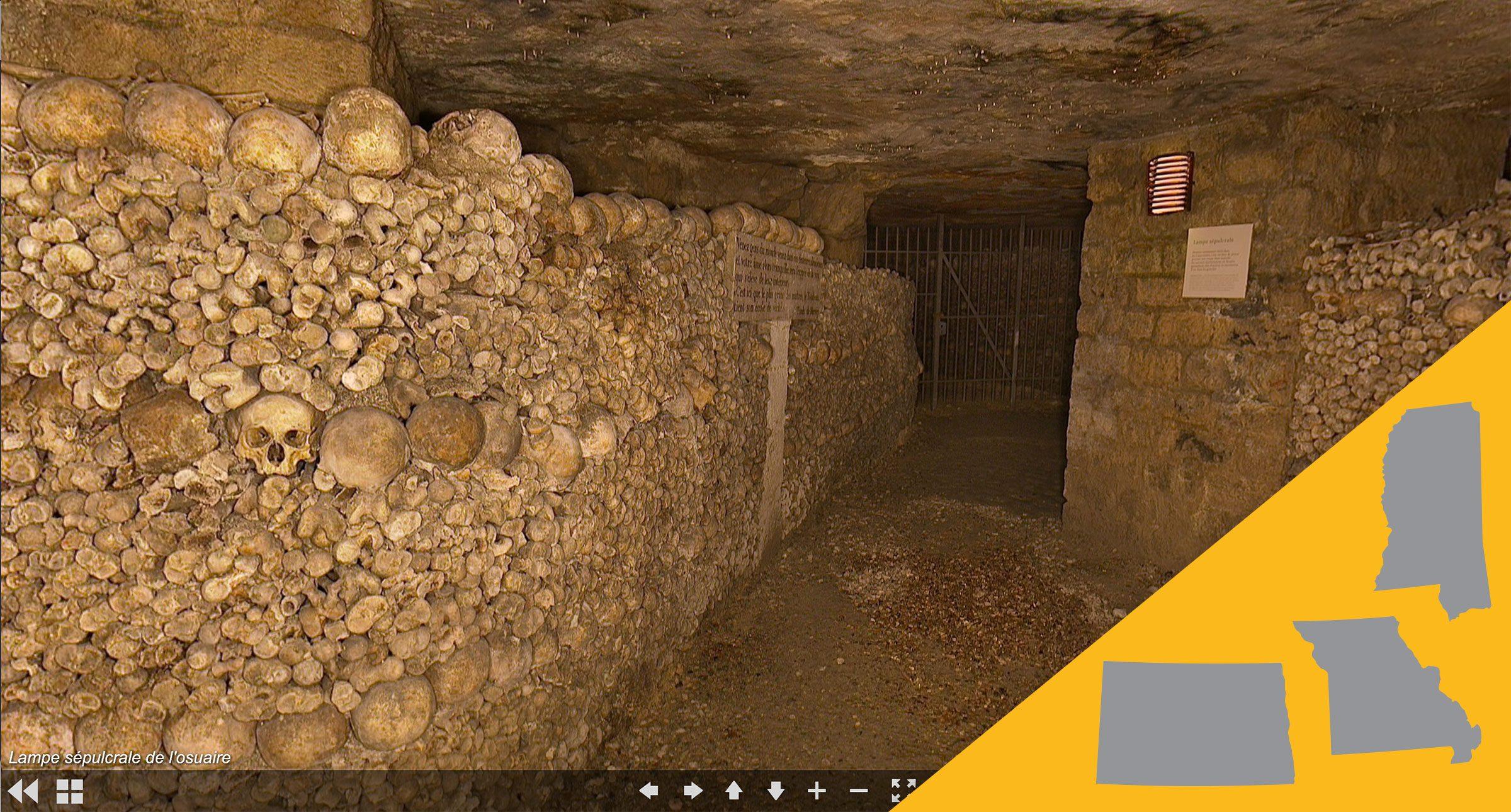 paris catacombes virtual tour