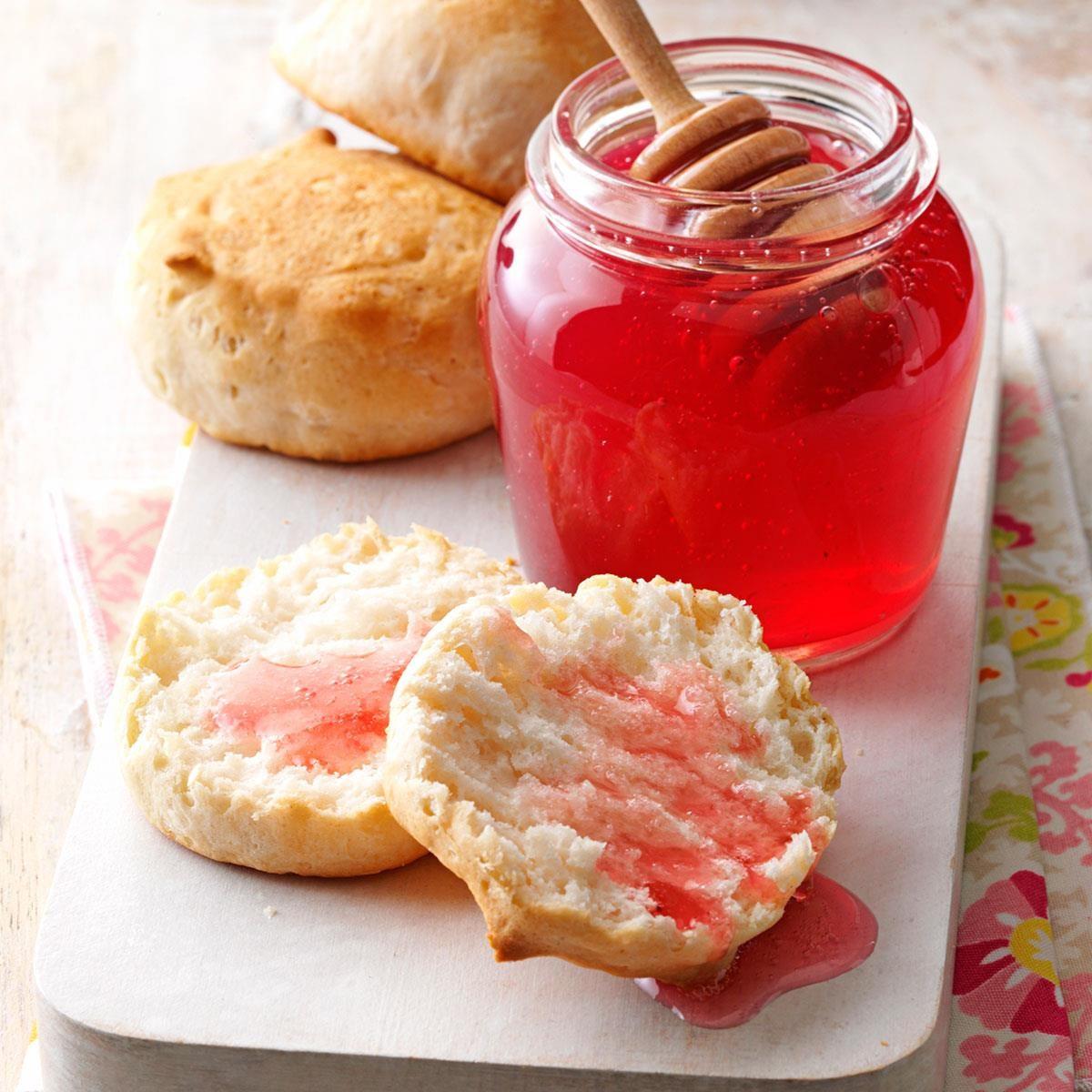 rose petal honey