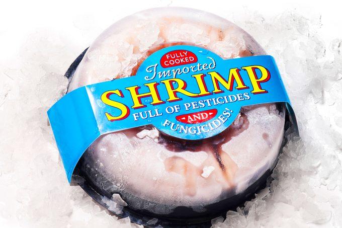 shrimp; altered label