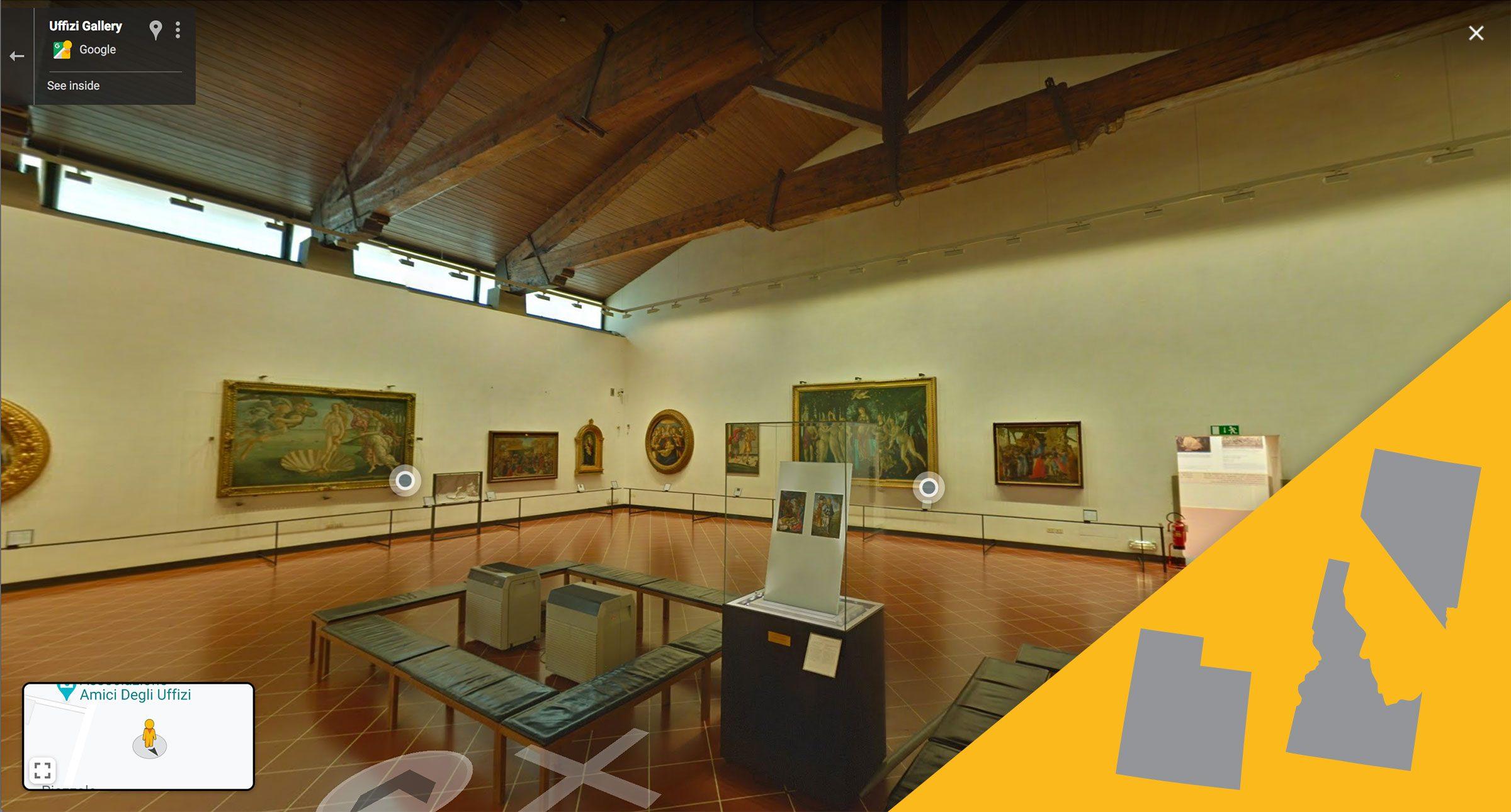 Uffizi Gallery virtual tour