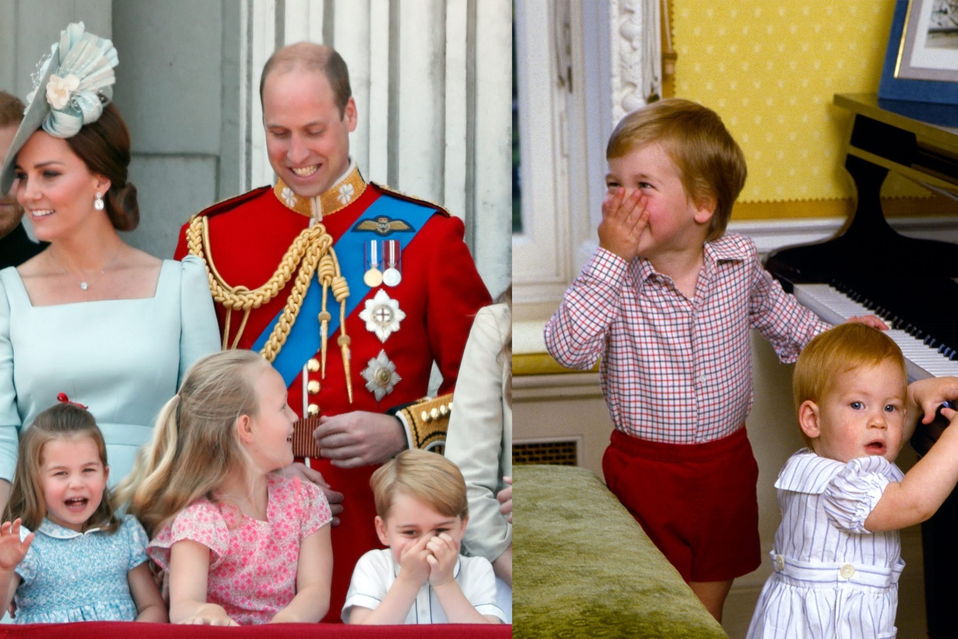 laughing royal family