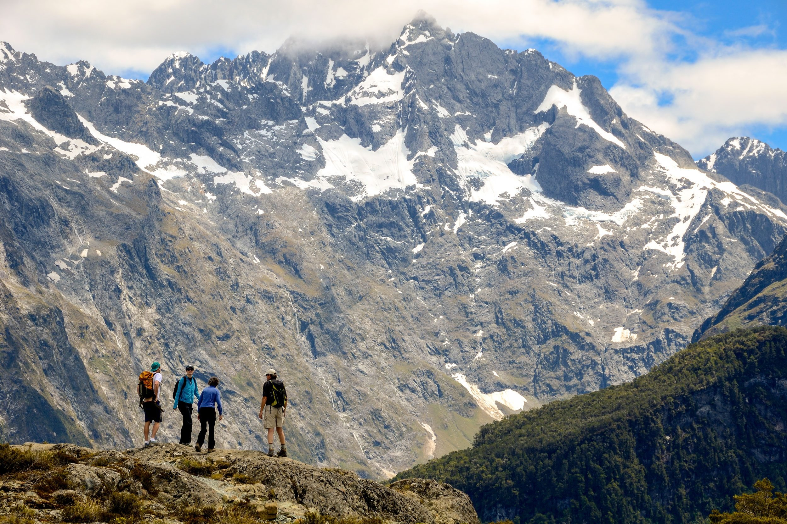 routeburn track hikers
