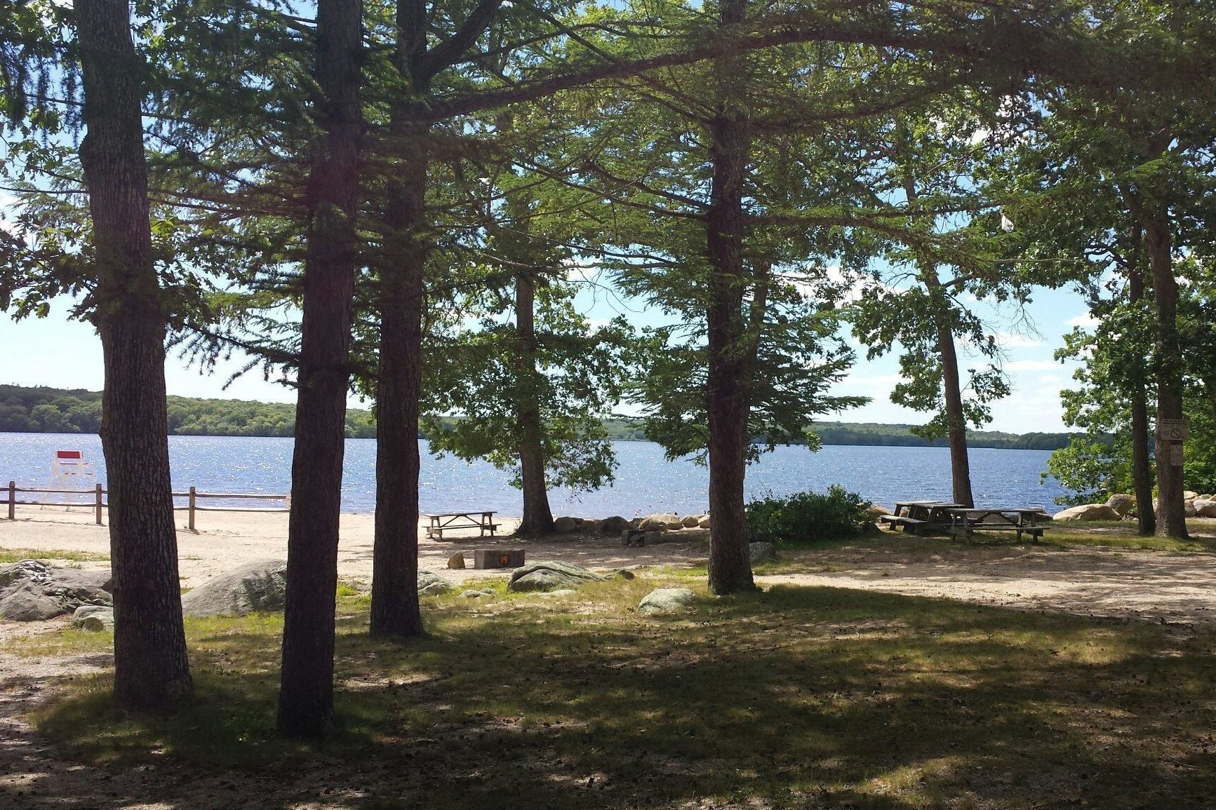 Rhode Island: Burlingame State Park and Campground