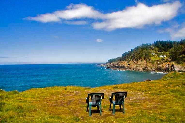 Ocean Cove Campground, Sea Ranch, California