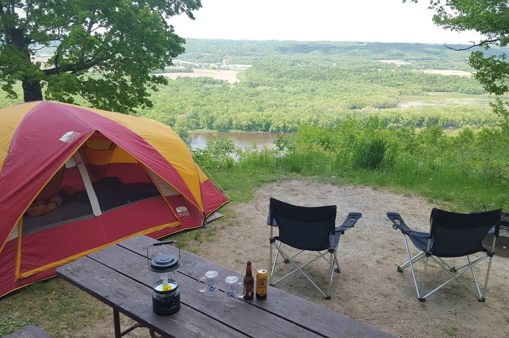 Wisconsin: Wyalusing State Park