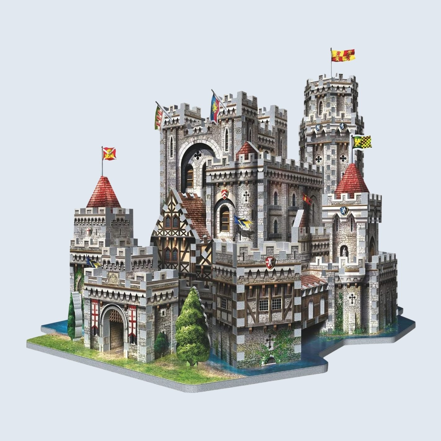 King Arthur's Camelot in 3D