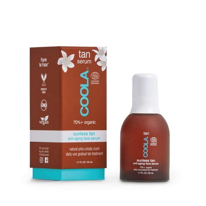 COOLA Organic Sunless Tanner Serum, Self Tan Face Serum