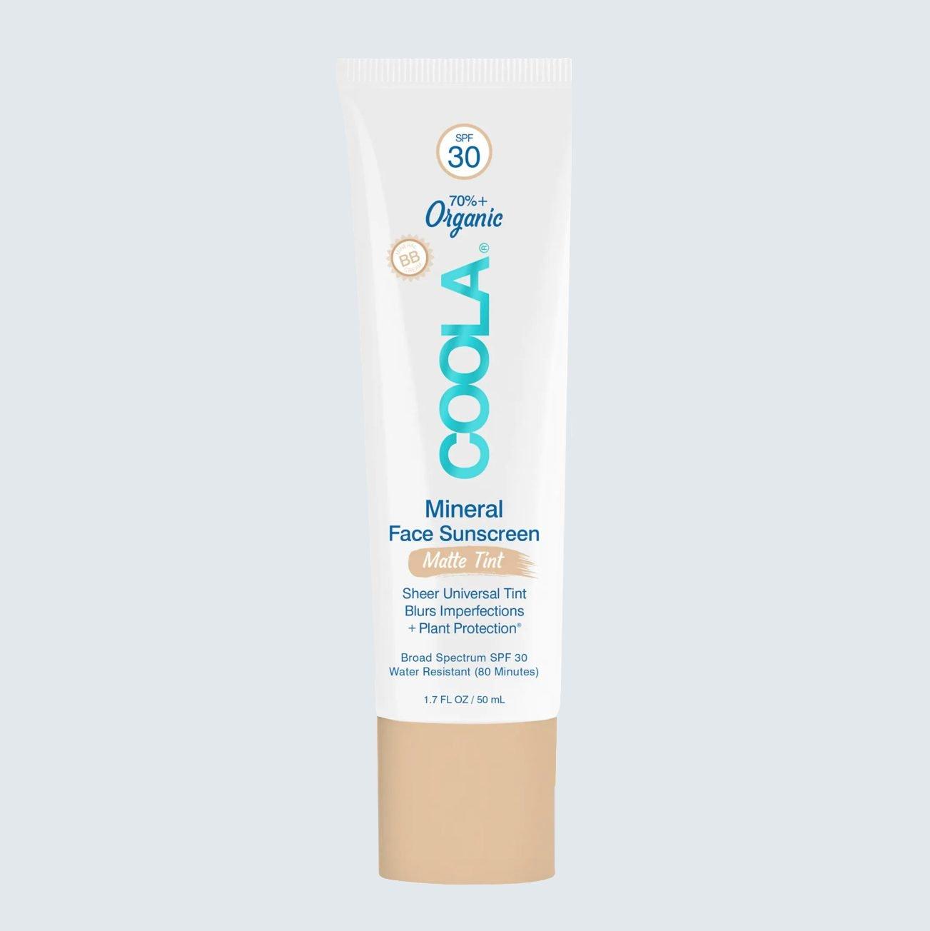 Coola Organic Mineral Face Matte Tint Sunscreen